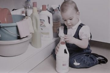 Diminuer les risques pour l'enfant dans la salle de bain
